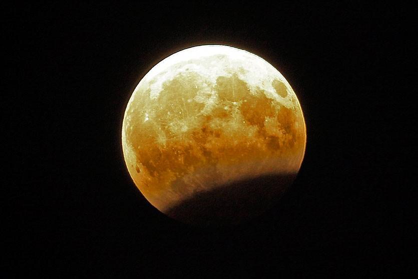 В ночь с 10 на 11 января белорусы смогут наблюдать лунное затмение, первое в 2020 году