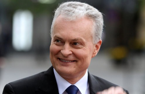 Гитанас Науседа победил на президентских выборах в Литве
