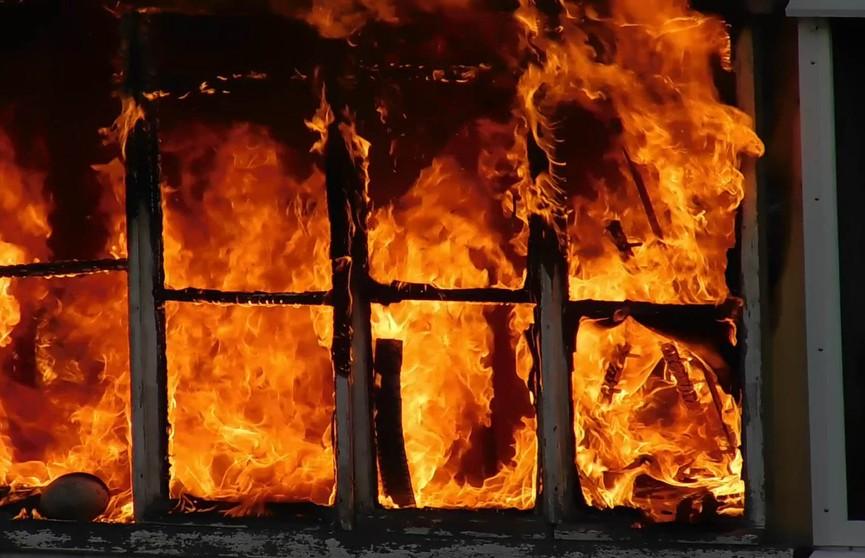 Пенсионерку спасли на пожаре в Гродно