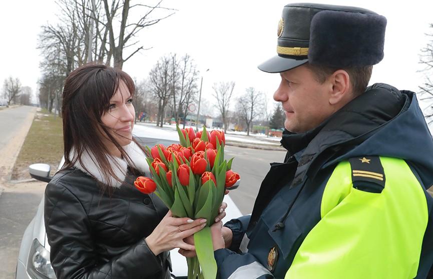 Как праздновали 8 марта в Беларуси?