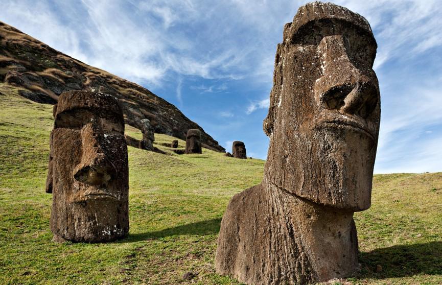 Раскрыты тайны истуканов на острове Пасхи