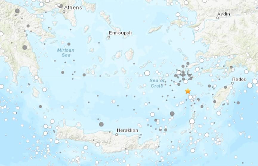 У берегов Греции произошло землетрясение  магнитудой 4,2