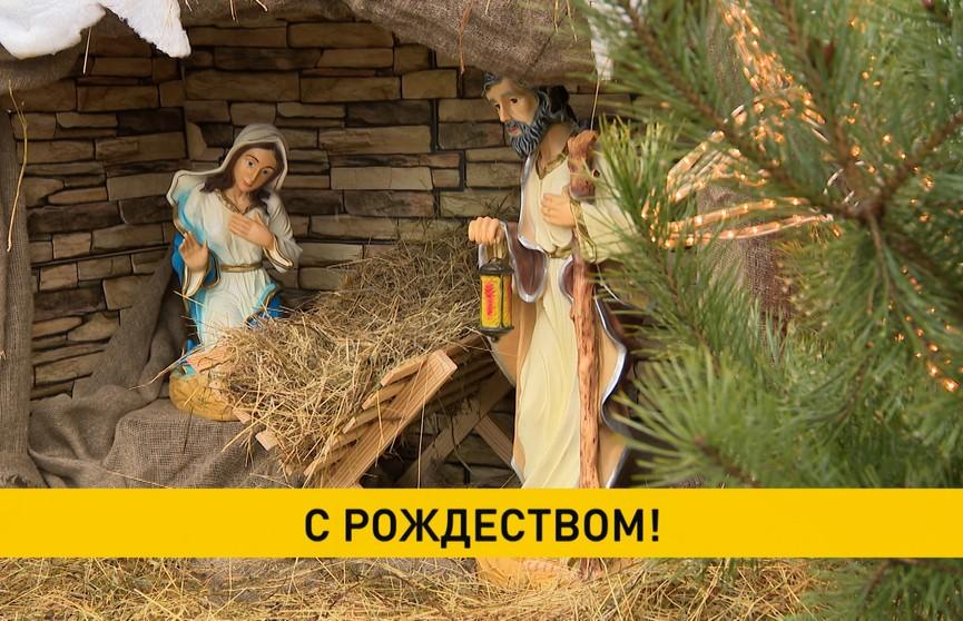 25 декабря отмечают Рождество Христово: торжественные богослужения проходят и в белорусских храмах