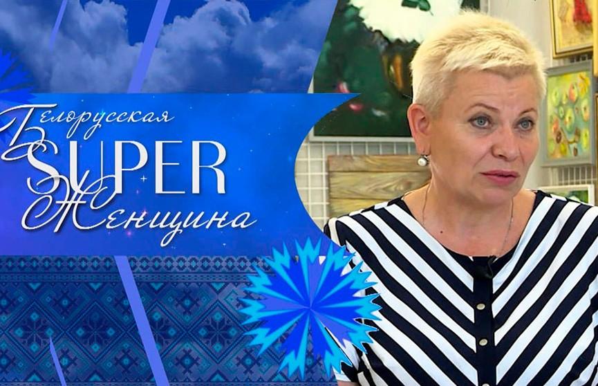 Директор картинной галереи Людмила Шимбалёва. Проект «Белорусская Super-женщина»