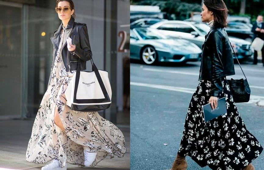 Как выглядеть стильно в платье с цветочным принтом