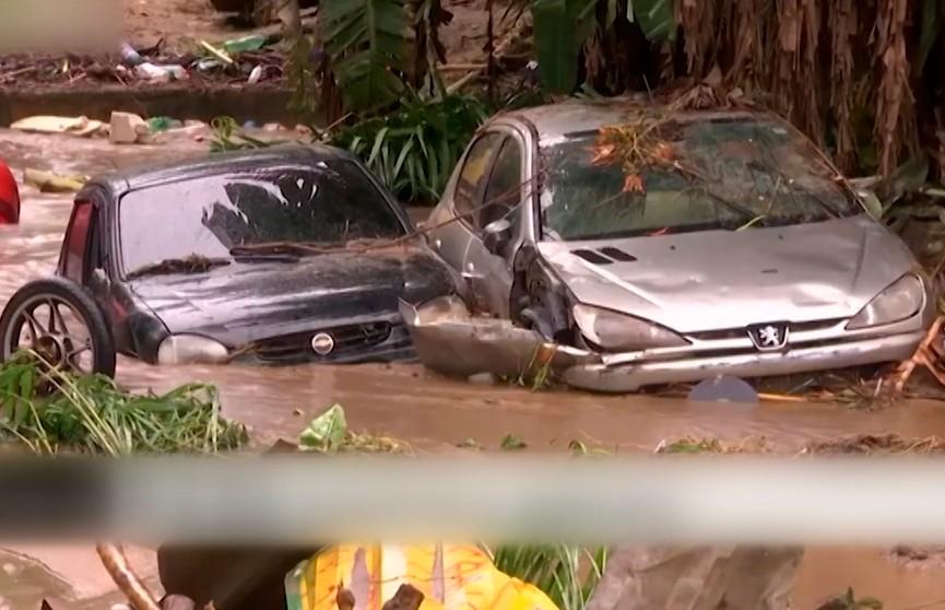 17 человек стали жертвами ливней в Бразилии