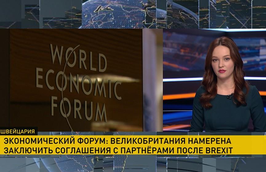 «Брексит» стал повесткой дня на Международном экономическом форуме в Давосе