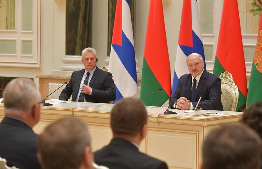 Лукашенко: Куба никогда не будет разочарована сотрудничеством с Беларусью