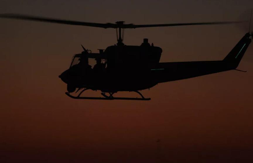 В Колумбии разбился военный вертолет