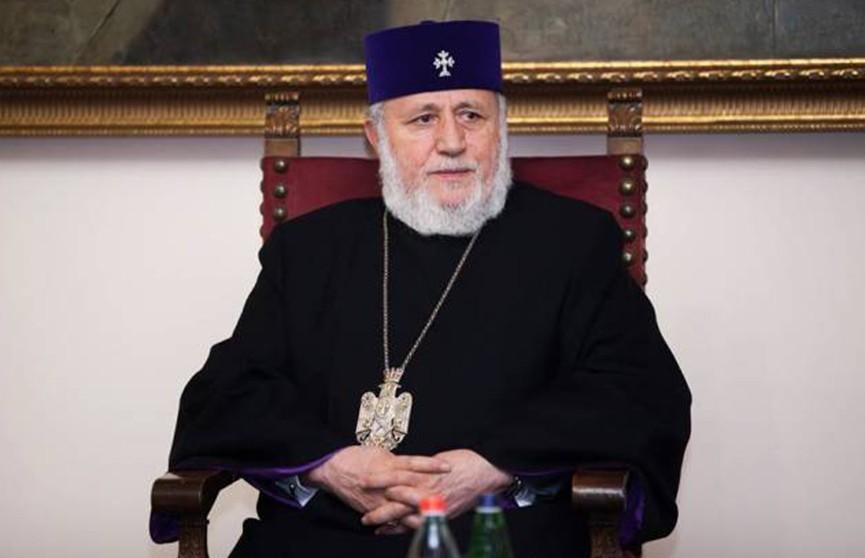 Александр Лукашенко поздравил с днём рождения Католикоса всех армян Гарегина Второго