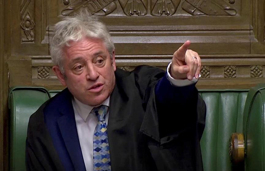 В Великобритании спикер Палаты общин Джон Беркоу уходит в отставку