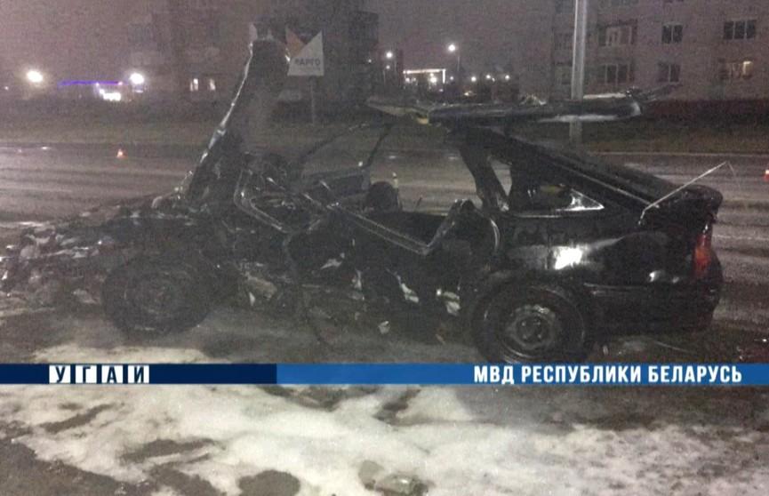 ДТП в Могилёве: водитель Opel допустила ошибку и погибла