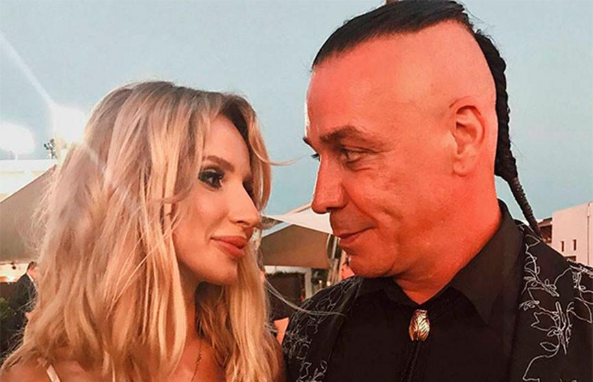 Лобода отпраздновала свой день рождения вместе с лидером группы Rammstein