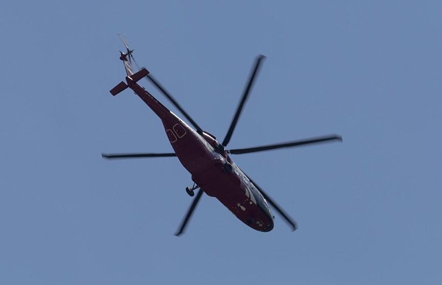 В Боливии разбился военный вертолет. Шесть человек погибли