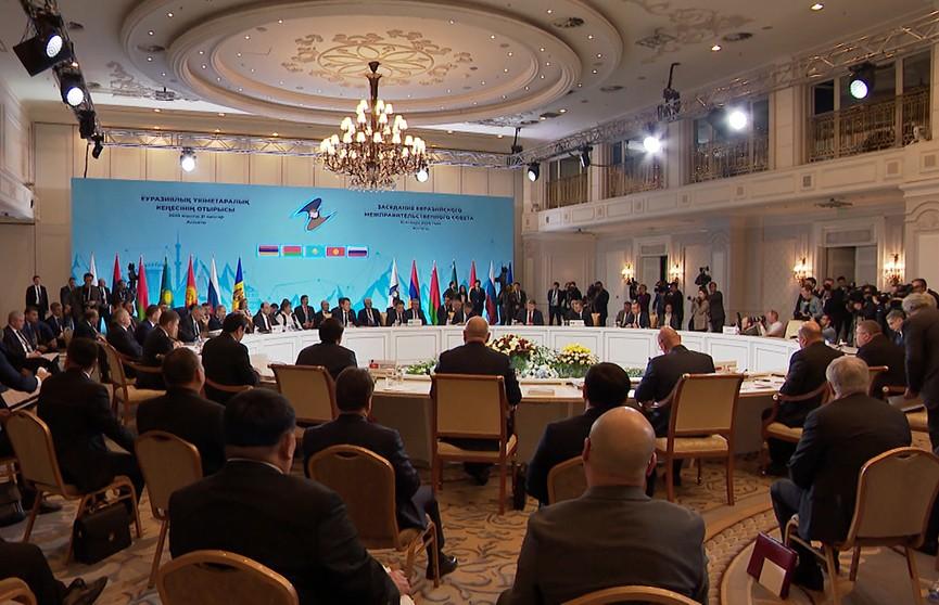 Итоги заседания межправительственного совета ЕАЭС