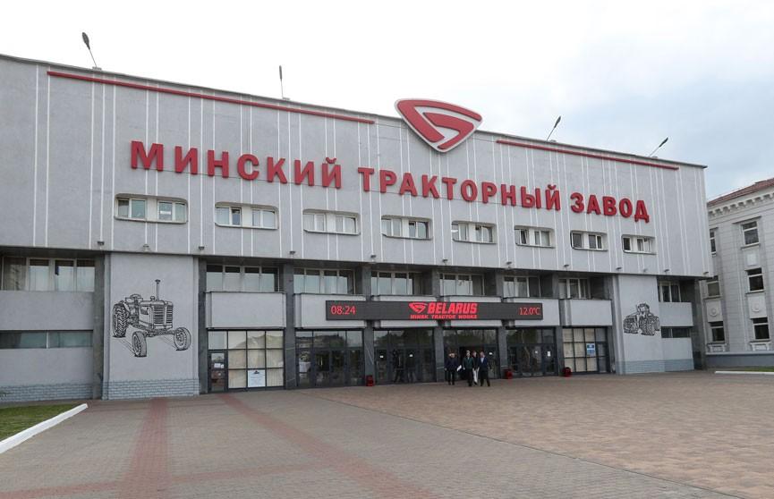 Александр Лукашенко поздравил коллектив МТЗ с 75-летием предприятия
