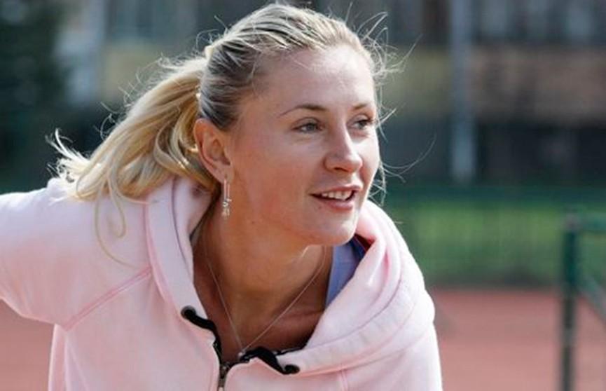 Теннис: Ольга Говорцова триумфально вернулась на корт