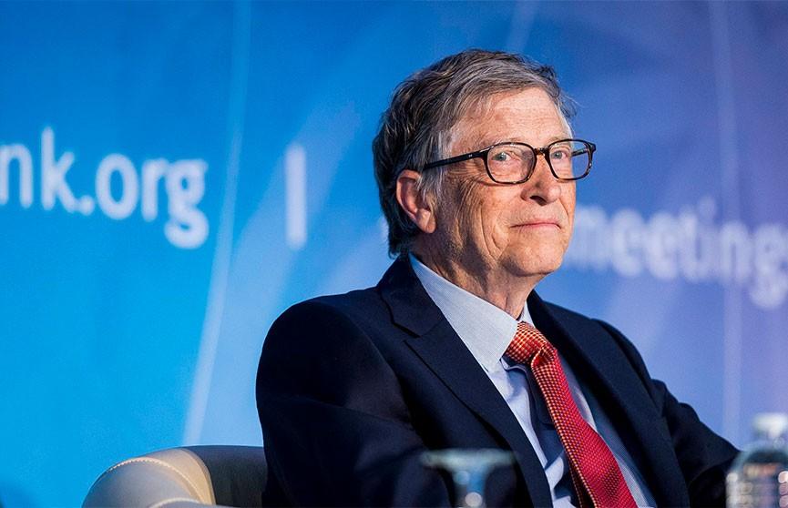 Билл Гейтс: Людям может понадобиться несколько доз вакцины от коронавируса