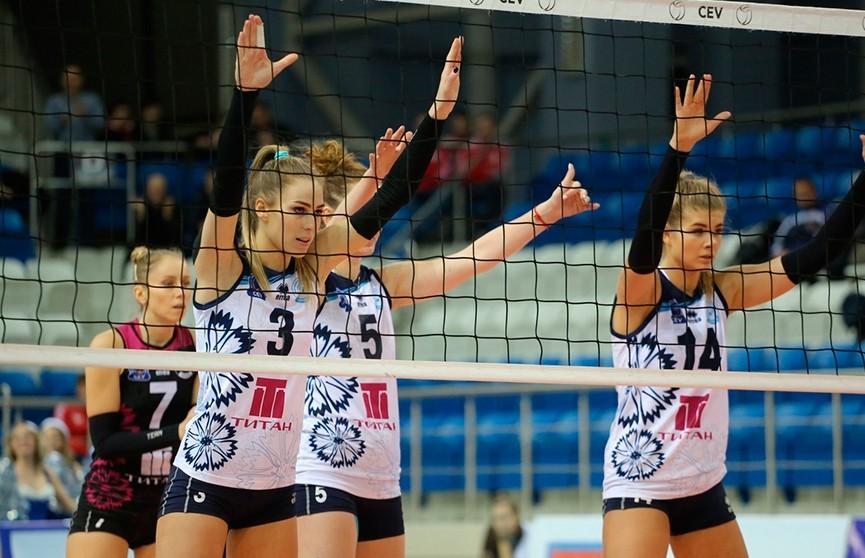 Волейболистки «Минчанки» одержали вторую подряд победу в российской Суперлиге
