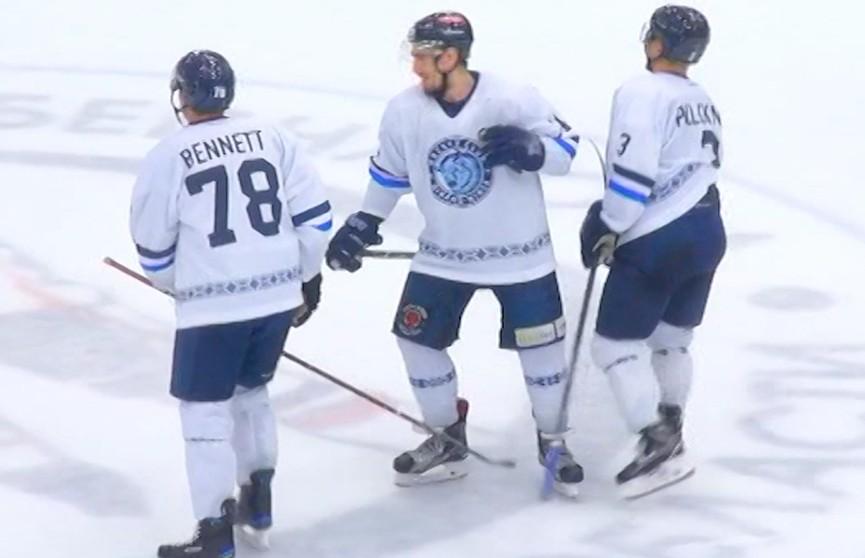 Хоккейное «Динамо» сыграет с московской сборной