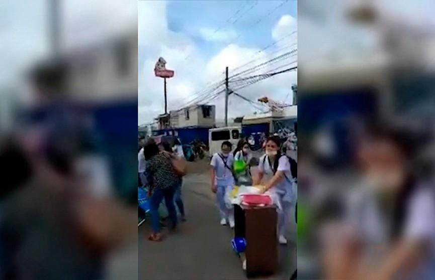 На Филиппинах произошло землетрясение магнитудой 6,6: двое погибших, десятки пострадавших