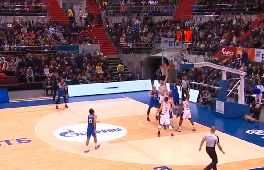 Баскетболисты «Цмокi-Мiнск» уступили «Зениту» из Санкт-Петербурга