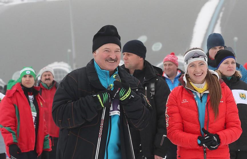 «Минская лыжня»: грандиозный спортивный праздник в Веснянке