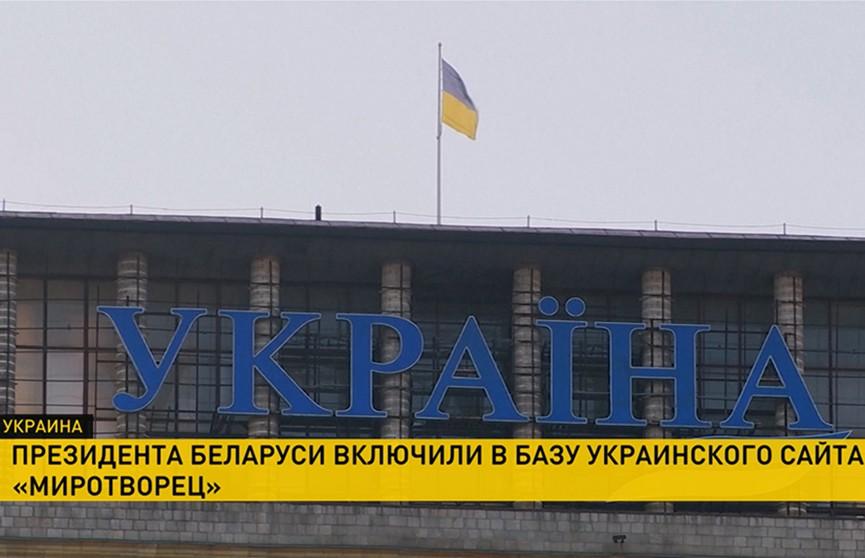 Александра Лукашенко внесли в украинскую базу «Миротворец»