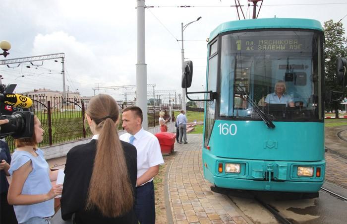 Оплатить поездку в трамваях Минска можно при помощи мобильного приложения TIX
