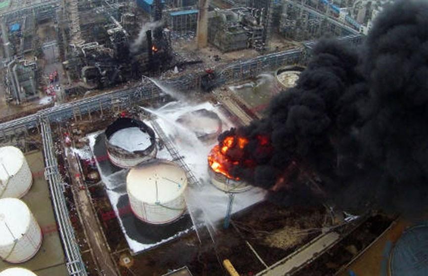 Взрыв произошёл на химическом заводе в Китае, есть жертвы