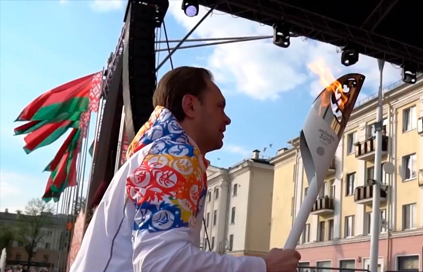 Вторые Европейские игры: «Пламя мира» в Шклове и Александрии