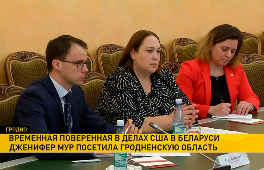 Дженифер Мур рассказала о том, какие сферы белорусской экономики наиболее интересны американскому бизнесу