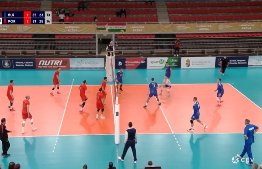 Белорусские волейболисты победой завершили выступление в Золотой Евролиге