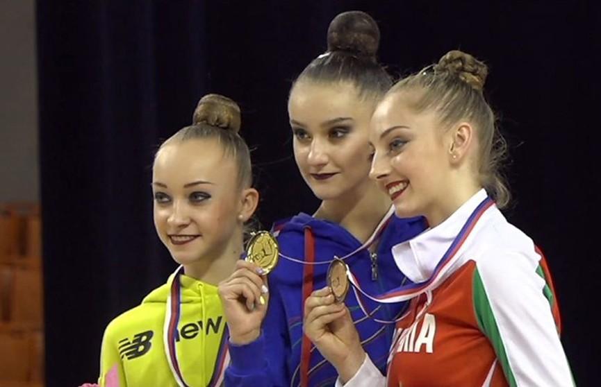 Белоруска Алина Горносько выиграла золото турнира Гран-при по художественной гимнастике