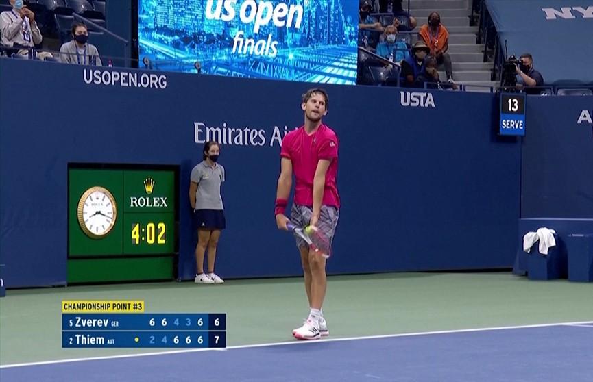 Австрийский теннисист Доминик Тим выиграл турнир US Open