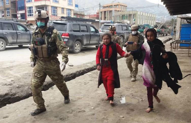 В Афганистане произошел теракт. Погибли 8 человек