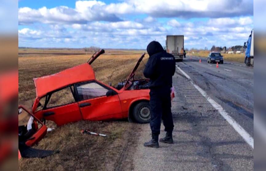 Многотонный грузовик столкнулся с автомобилем ВАЗ: водитель легковой машины погиб
