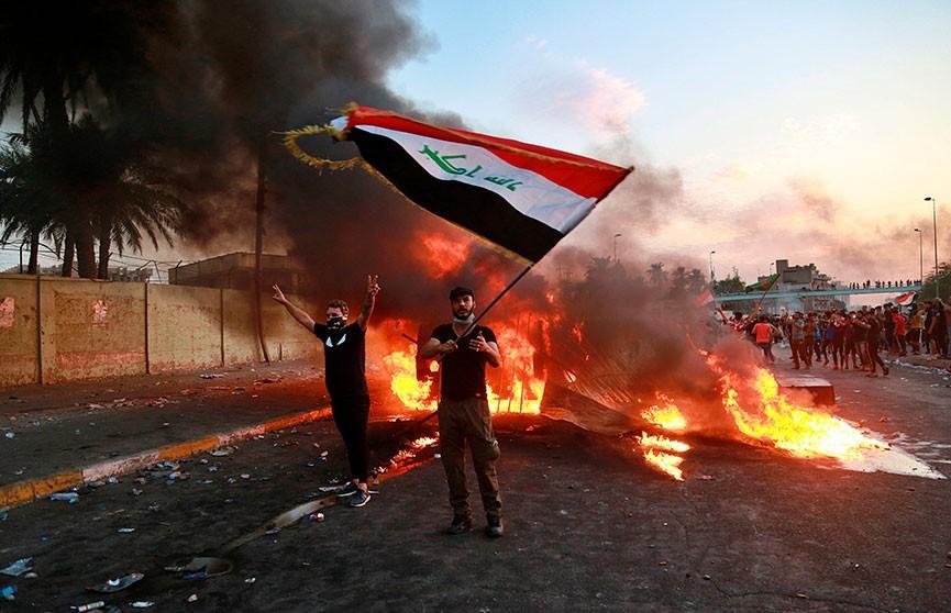 Из-за протестов Ирак отключили от интернета