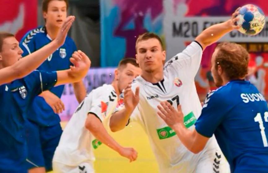 Сборная Беларуси по гандболу вышла в полуфинал чемпионата Европы