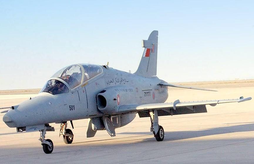 Принцесса Бахрейна совершила полёт за штурвалом военного самолёта