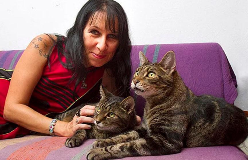 Женщина вышла замуж за своих котов! Странная и удивительная история британки и её питомцев