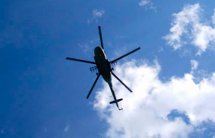 В Южной Корее разбился военный вертолёт