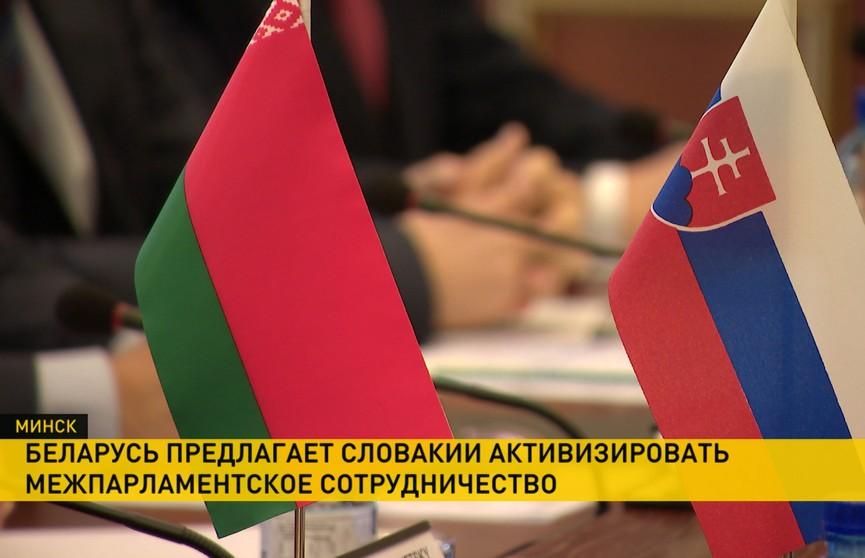 В Палате представителей прошли переговоры с парламентской делегацией из Словакии