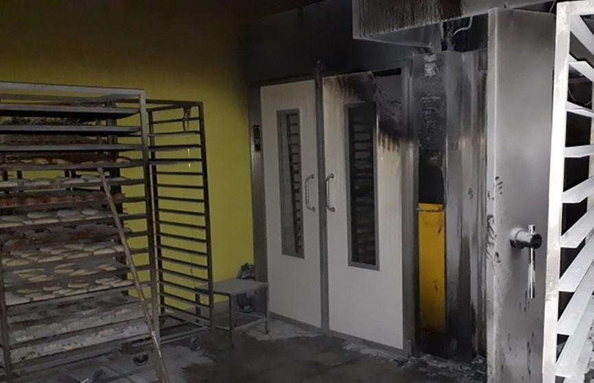 Кондитерский цех супермаркета горел в Бресте