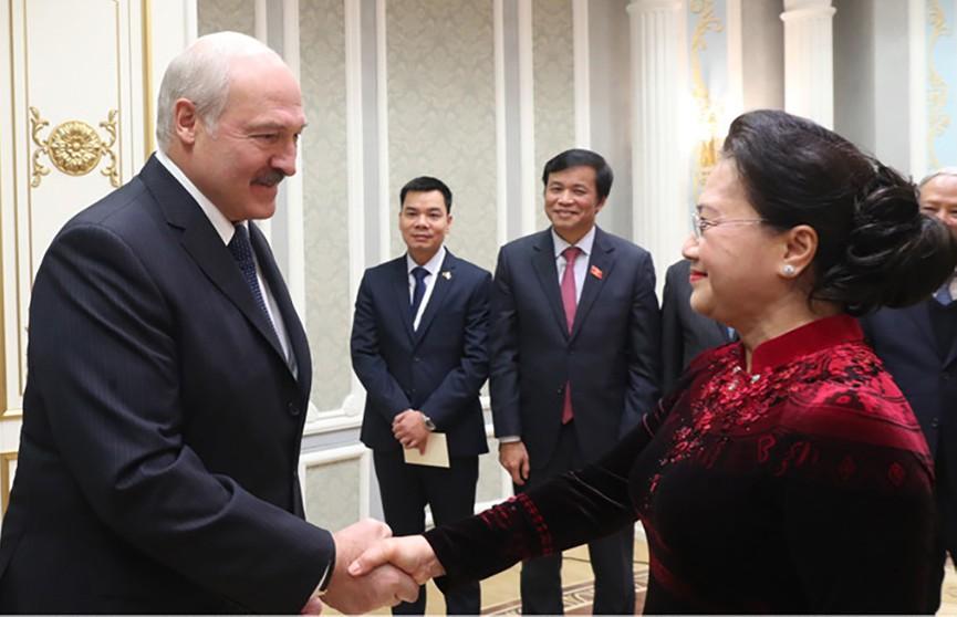 Александр Лукашенко встретился с главой Национального собрания Вьетнама