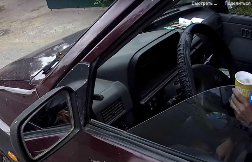 МВД: Пьяная мать перевозила в машине троих маленьких детей в Речицком районе