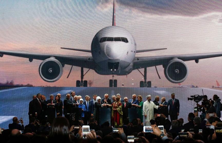 Будущий крупнейший аэропорт мира открылся в Стамбуле