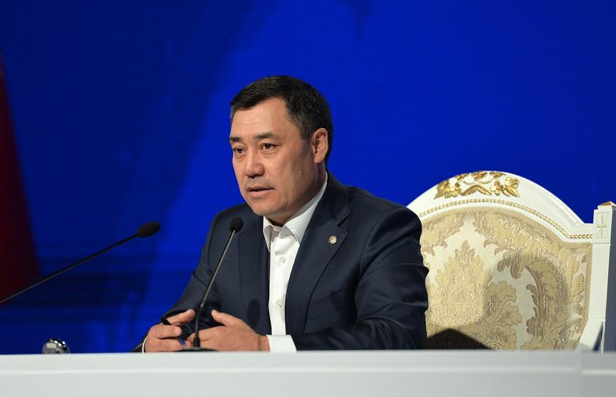 Садыр Жапаров официально вступил в должность президента Кыргызстана
