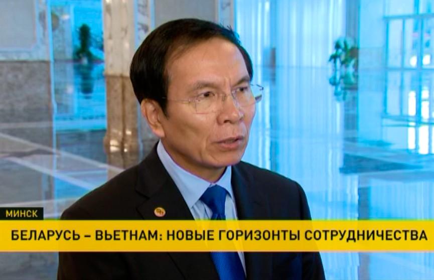 Посол Вьетнама завершил свою миссию в Беларуси: с дипломатом встретился Президент