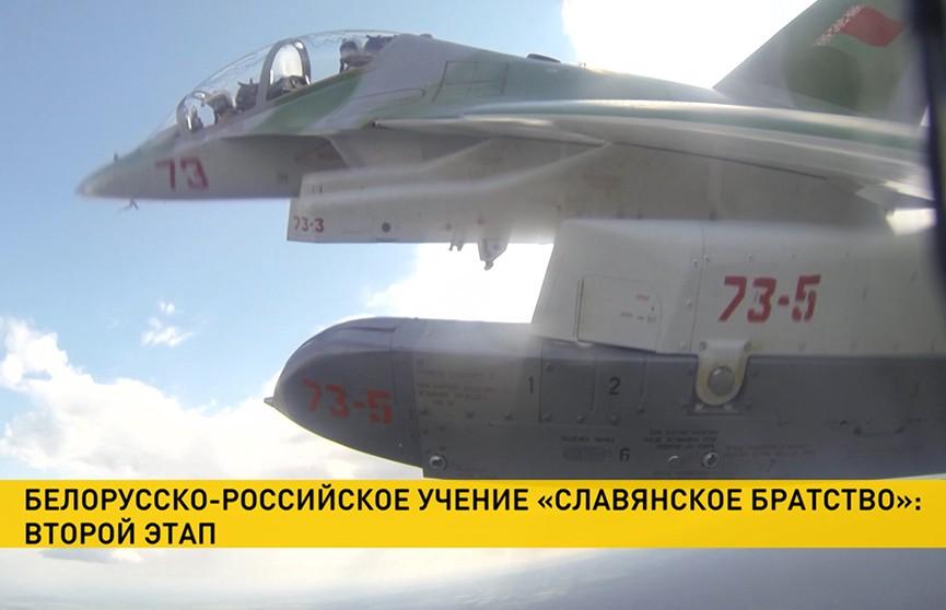 Белорусские асы провели учебный воздушный бой